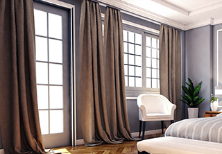 we have been handling finest drapes for over 15 years and can be trusted to take care of anything that comes our way