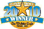 Wichita Eagle's Readers Choice logo 2010