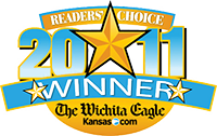 Wichita Eagle's Readers Choice logo 2011