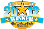 Wichita Eagle's Readers Choice logo 2012