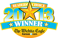 Wichita Eagle's Readers Choice logo 2013