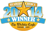 Wichita Eagle's Readers Choice logo 2014