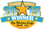 Wichita Eagle's Readers Choice logo 2015