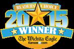 Wichita Eagle's Readers Choice logo 2015