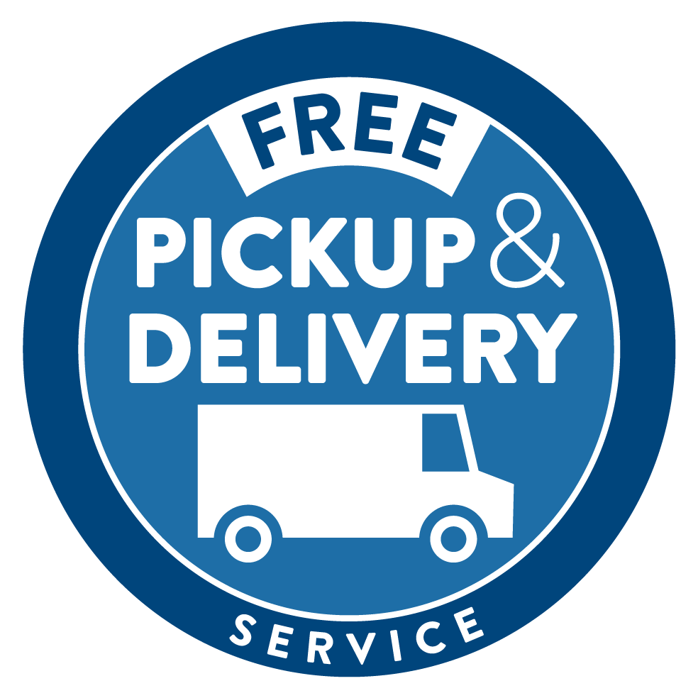 Free Pickup & Delivery Service Badge