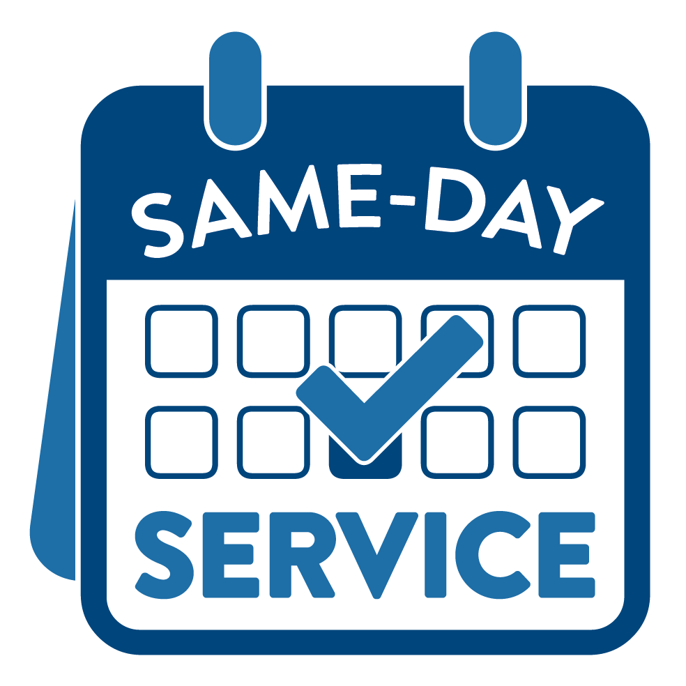Same-Day Service Badge